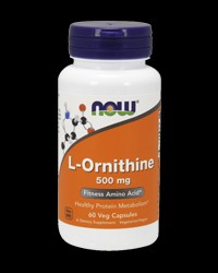 L-Ornithine 500 mg от NOW Foods