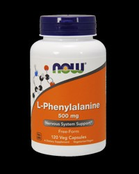 L-Phenylalanine 500mg от NOW Foods