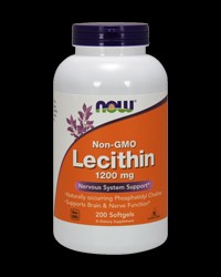 Lecithin / Soy 1200 mg от NOW Foods