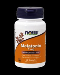 Melatonin 3 mg от NOW Foods