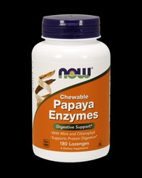 Papaya Enzymes от NOW Foods