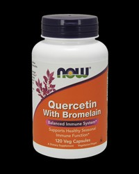 Quercetin with Bromelain от NOW Foods