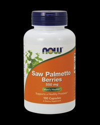 Saw Palmetto 550 mg от NOW Foods