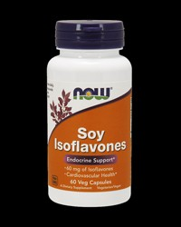 Soy Isoflavones /Non-GE/ 150 mg от NOW Foods