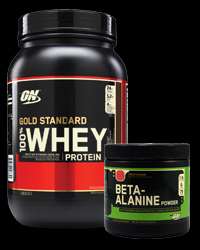 100% Whey Gold Standard 2 Lbs. / Beta-Alanine Powder от Optimum Nutrition