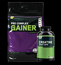 Pro Complex Gainer 10lb + ON Creatine 2500 300caps FREE pentru diete