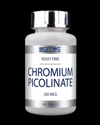 Chromium Picolinate 200 mcg от Scitec Essentials