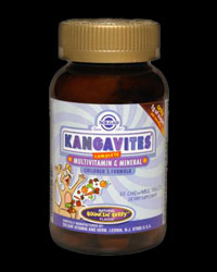 Kangavites Multivitamin & Mineral Formula Berry Chewable Tabs от Solgar