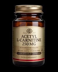 Acetyl L-Carnitine 250 mg от Solgar