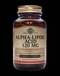 Alpha Lipoic Acid 120 mg от Solgar
