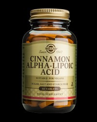 Cinnamon Alpha Lipoic Acid от Solgar