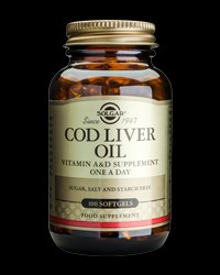 One-a-day Norwegian Cod Liver Oil от Solgar