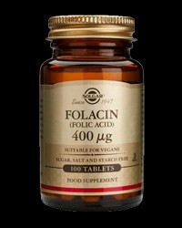 Folic Acid 400 mcg от Solgar