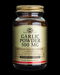 Garlic Powder 500 mg от Solgar