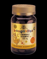 Kangavites Chewable Vitamin C 100 mg от Solgar