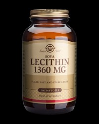 Soya Lecithin 1360 mg от Solgar