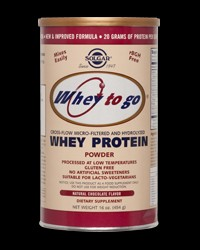 Whey To Go Protein Powder от Solgar