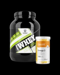 Swedish Supplements Delux Whey Protein + Ostrovit Omega 3 FREE от Swedish Supplements, OstroVit