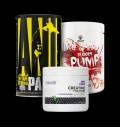 Universal Animal PAK / Swedish Supplements Bloody Pump / OstroVit Creatine Matrix pentru diete