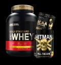 Optimum Nutrition 100% Whey Gold Standard / Swedish Supplements HITMAN / Kevin Levrone SS BCAA Defender pentru diete