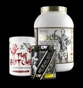 Swedish Supplements The Butcher / Dorian Yates HIT BCAA 10:1:1 / Kevin Levrone Gold Whey 2 kg pentru diete