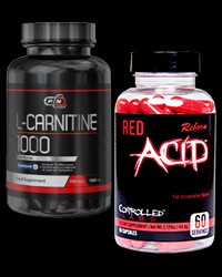 L-carnitine 1000 / Red Acid Reborn от PURE Nutrition USA, Controlled Labs