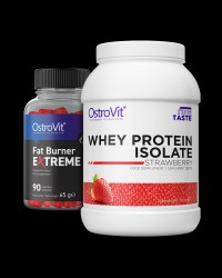 OstroVit Whey Protein Isolate + Fat Burner Extreme FREE от OstroVit