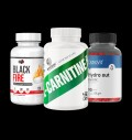 Pure Nutrition USA Black Fire / Swedish Supplements L-Carnitine Fortne / OstroVit Hydro Out pentru diete