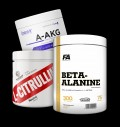 Swedish Supplements Citrulline Malate / OstroVit AAKG Powder / FA Nutrition Beta-Alanine CarnoSyn pentru diete