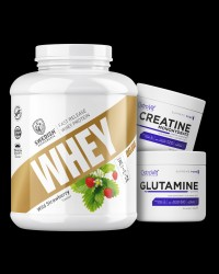 Swedish Whey Deluxe / + Creatine + Glutamine FREE от Swedish Supplements, OstroVit