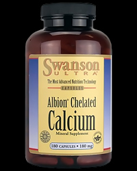 Albion Chelated Calcium 180 mg от Swanson