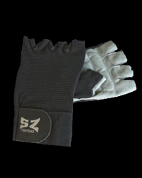 Fitness Gloves / black, with net/ от SZ Fighters