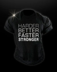 T-Shirt - STRONGER от Fit One