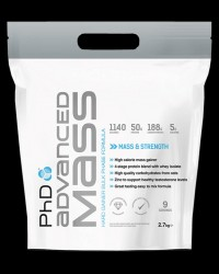 Advanced Mass / Hard Gainer Bulk Phase Formula от PhD Nutrition