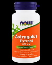 Astragalus Extract 500 mg от NOW Foods