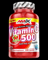 Vitamin C with Rose Hips 500 mg от AMIX