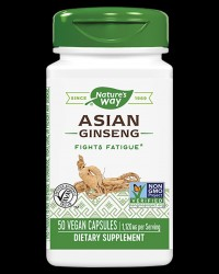 Korean (Asian) Ginseng 560 mg от Nature's Way