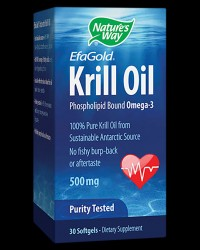 Krill Oil 500 mg от Nature's Way