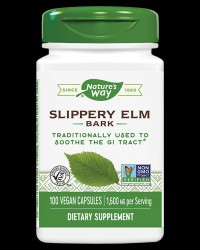 Slippery Elm 370 mg от Nature's Way