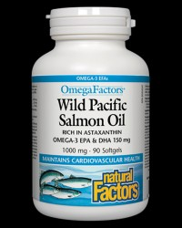 Wild Pacfic Salmon Oil от Natural Factors