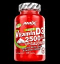 Vitamin D3 2500 IU with Calcium 250 mg pentru diete