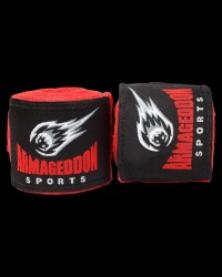 Boxing Hand Wraps 4.5 m. RED  от Armageddon Sports