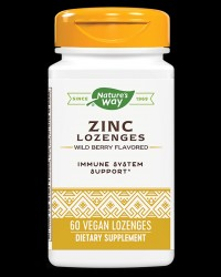 Zinc Lozenges with Echinacea and Vitamin C от Nature's Way