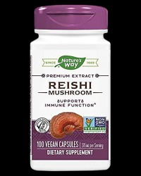 Reishi Standardized 565 mg от Nature's Way