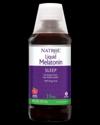 Melatonin 2.5 mg Liquid от Natrol