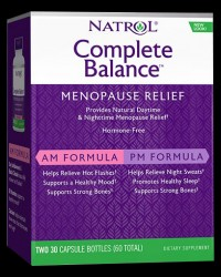 Complete Balance / Menopause Relief от Natrol
