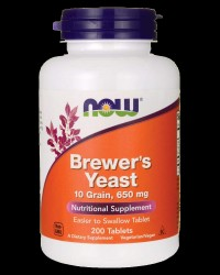 Brewer's Yeast 650 mg от NOW Foods