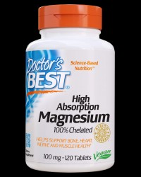 BEST High Absorption 100% Chelated Magnesium от Doctor's Best