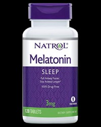 Melatonin 3 mg от Natrol