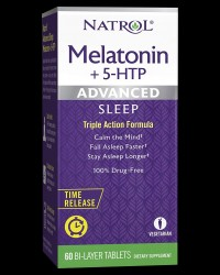 Advanced Sleep Melatonin + 5-HTP от Natrol